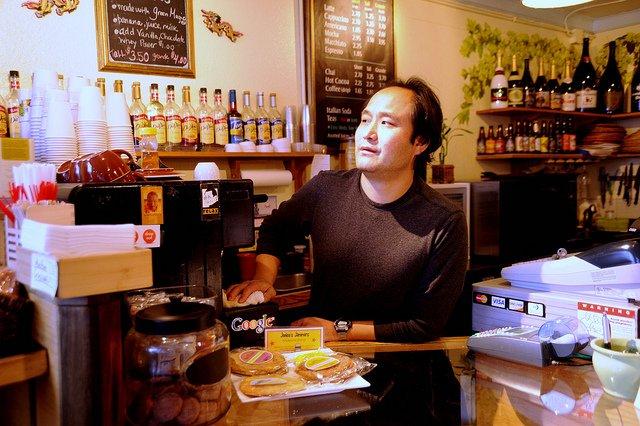 Coffee Shop Cash Register
