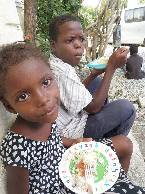 An orphanage in Haiti